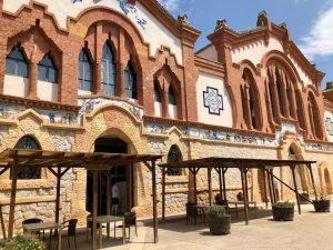 wijnhuis kathedraal Pinell de Bai Catelonie Global Dutchies blog