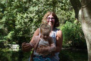 Global Dutchies interview Monique met kleindochter