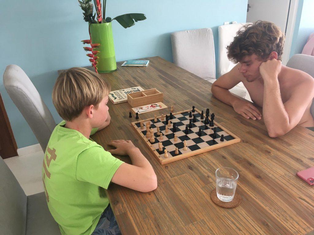 anneke blog pasen 2020 corona schaken