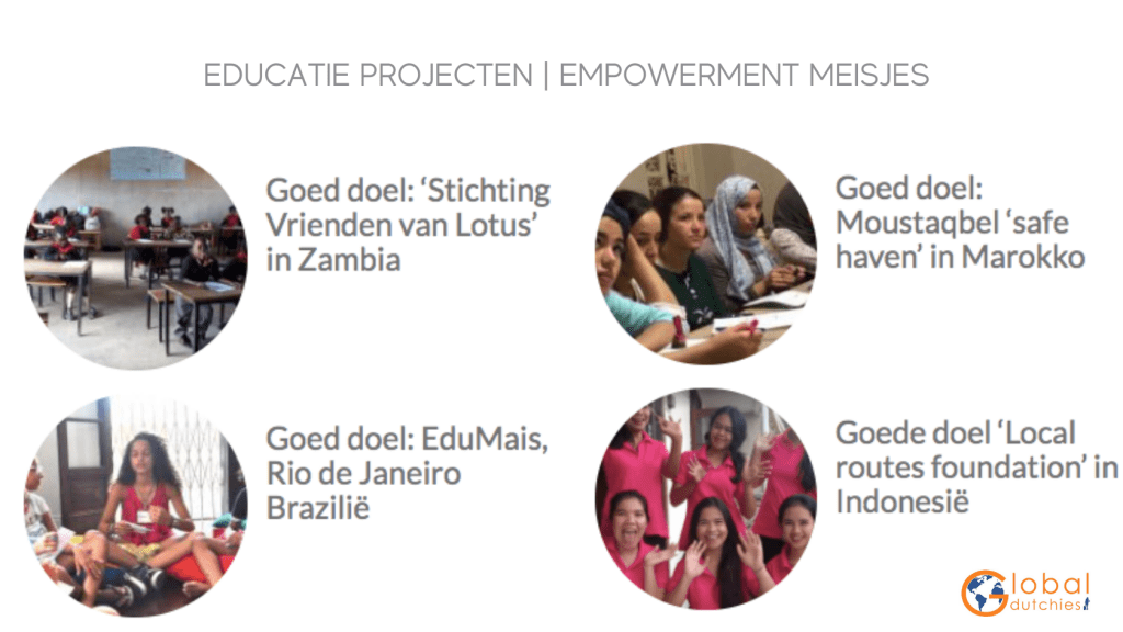 donatie €500 euro global dutchies empowerment meisjes