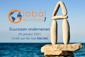 online meeting duurzaam ondernemen Global Dutchies wereldwijd