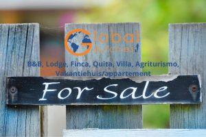 Te koop Global Dutchies vakantie accommodatie B&B villa