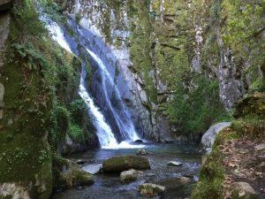 Fraga da Pena Centraal Portugal watervallen