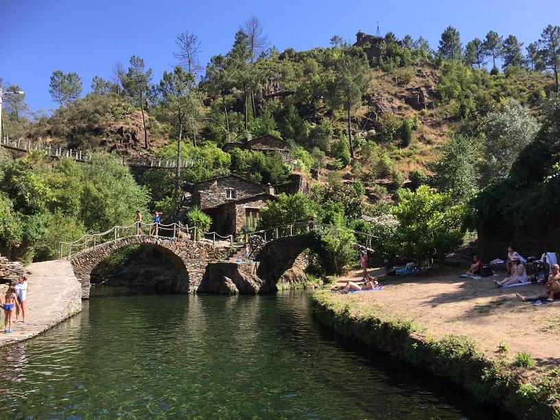 Vakantie in Centraal Portugal: Foz d'Egua
