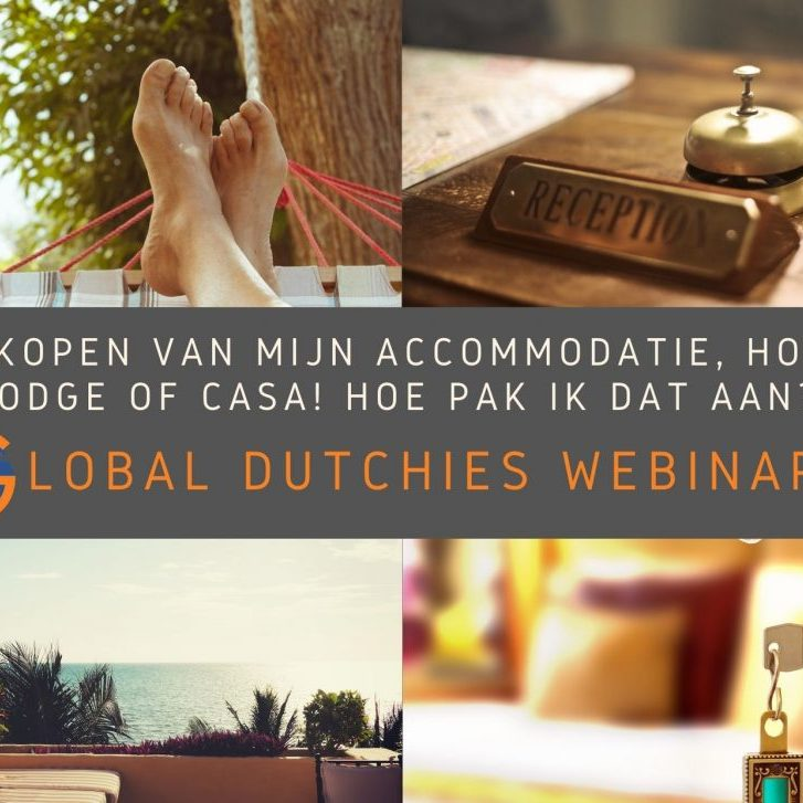 accommodatie verkopen lodge appartement webinar
